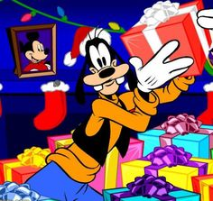 GOOFY HAS A GIFT.