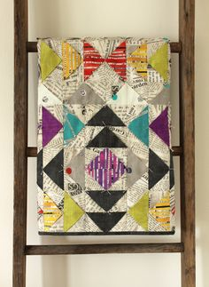 Collage Quilt: by Erica Sage Windham Fabrics: Collage; in stores july 2013