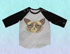 COTTON POLYESTER BLEND, crew neck, 3/4 sleeve tshirt. Buy 3 get 1 free kids shirt, let me know. >>>THE ACTUAL COLOR IS SOME DIFFERENT FROM MONITOR. >>>For ensure please view measure size in inches (add size for comfortable loose) before place to order. - Chest (round) 21.5-22 Grumpy Cat Shirt, Kids Shirts, T Shirts For Women, Cute Graphic Tees, Grey Shirt, Monitor, Crew Neck, Sleeve, Cotton