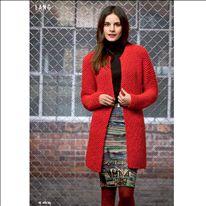 Cardigan | Damesvest | Handknit | DIY | Pattern | Mrs Knitting | Hobbydoos