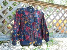 Vintage 80's 90's Hipster Urban Paisley and Gold by VBombVintage, $16.00