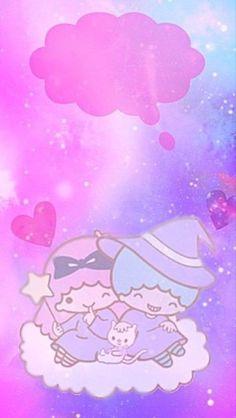 Little Twin Stars, Little Star, Hello Kitty, Cute Twins, Star Wallpaper, Sanrio Characters, Crayons, Kawaii, Halloween