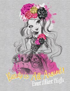 Briar Beauty Ever After High Spring Unsprung art