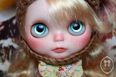 OOAK Blythe Doll For Adoption. | Description. Custom Commiss… | Flickr