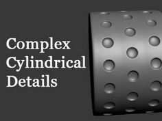 3D Modeling Tutorial #112 - Complex Cylindrical Details In this video I'll show you how to create complex cylindrical details in 3D Studio Max. Please rememb...