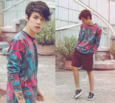 We move lightly (by Vini Uehara) http://lookbook.nu/look/4362793-Vini-Uehara-Tshirt-Choies-Shoes-We-Move-Lightly