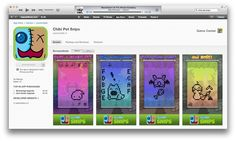 Chibi pet is an adorable virtual pet for iPhone iPad and ipad touch!! Both free and paid versions!!!