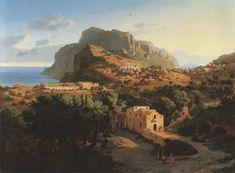 Leo von Klenze, Capri, 1833