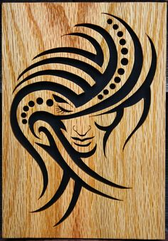 Tribal women tattoo design