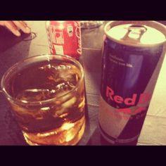 #Ballantine #Whisky #RedBull