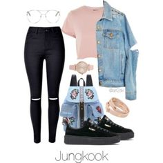 Hanging out with Jungkook