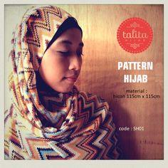 Indian Tribal - square #hijab