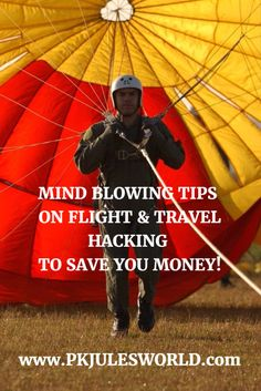 Here Is How Flight and Travel Hacking Can Save You A Ton Of Money, and Allow You Great Life Experiences! Read more http://www.pkjulesworld.com/travel-hacking-save-cash/