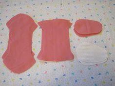 Como hacer zapatos de bebes