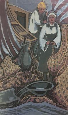 #378, gouache, 1983, 8,5'' x 14'', 55$