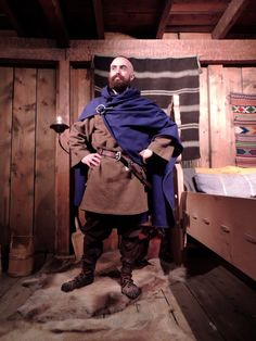 My Viking outfit, though I look a bit more like an Irish Chieftain! - Follow my summer stories in Norway at the Lofotr Viking museum; follow the link to read more about my clothing, experimental archaeology and reconstructing ancient atmospheres: http://archaeofox.com/2015/06/08/the-things-we-wear-the-trinkets-we-carry/