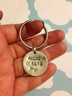 Accio Keys  - Harry Potter Keychain