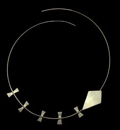 KITE, sterling silver necklace by #POLAOSLO Design at www.polaoslodesign.com