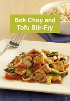 Bok Choy and Tofu Stir-Fry recipe is an easy and delicious vegetarian ...