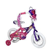 b06ecf93930e Girls  12 Inch Disney Princess Bike with Jewel Case Disney Princess Bike