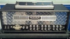 Mesa Boogie Triple Rectifier....THIS is what American rock guitar sounds like!