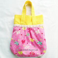 çocuk çantası nasıl dikilir