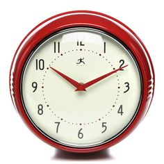 "Infinity Instruments Retro 9.5"" Wall Clock"
