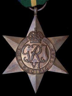 The Pacific Star - British service award