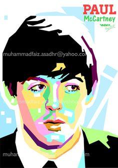 Paul McCartney by FaizCilik