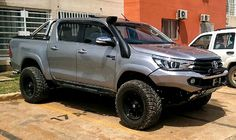 Rhino 4×4 | Toyota Hilux 2016 Front Evolution 3D Bumper Toyota Hilux, Toyota 4x4, Toyota Trucks, Diesel Trucks, Custom Trucks, Lifted Trucks, Pickup Trucks, Toyota Tundra, Hilux Mods