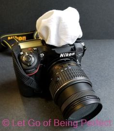 DIY Cloth Hat Diffuser - This simple photography tutorial will teach you how to make a simple cloth diffuser to put over your dSLR flash. Learn tips for your blog photography. Photoshop, Lightroom, and Elements ideas to modify and fix up your pictures and images. Explore the web site for more step-by-step tutorials, especially upcycling and refashioning how-tos. Also check out my blogging & photograph tips! http://letgoofbeingperfect.com #photographytutorials