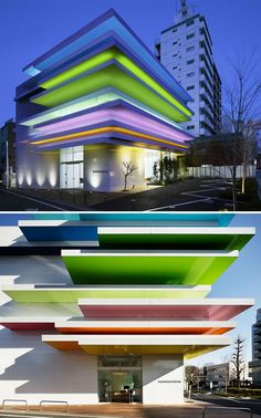 Contemporary Japanese architecture combines a rich mix of traditional design practices and western modern aesthetics. Architecture Du Japon, Architecture Design Concept, Modern Japanese Architecture, Facade Design, Facade Architecture, Sustainable Architecture, Residential Architecture, Amazing Architecture, Design Design