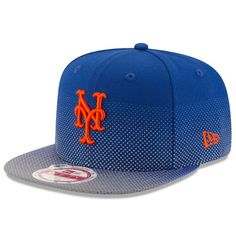 New Era New York Mets Royal Flow Flect Original Fit 9FIFTY Snapback Adjustable Hat