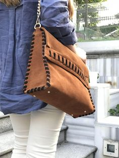 Genuine Leather Bag in Brown 66d786a234788