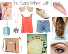"""""""The Ferris Wheel with Louis"""" by baileyenders ❤ liked on Polyvore"""
