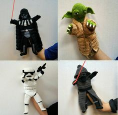 ■ Star Wars Crochet Pattern PDF: Set of Four. • Star Wars Crochet Set includes four (4) quality .pdf files with easy instructions and photographs. The following set includes the following: Stormtrooper, Yoda, Darth Vader and Kylo Ren. ■ What makes our patterns special? ••