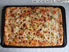 ...Miky homemade...: Impasto per pizza con lievito madre secco