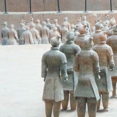 The amazing Terracotta Warriors in Xi'an.  #xian #photography #teracotta #army #warriors #terracottawarriors #terracottaarmy #city #history #china #travel #asia #STAtravel #DragonTrip #Holiday #travel #wonderlust #scenery #visitchina #traditional #worldtravel