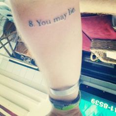The Best Literary Quotes Ever Tattooed