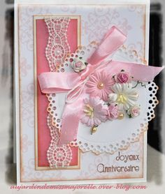 carterie artisanale de Majorelle-carte d'anniversaire