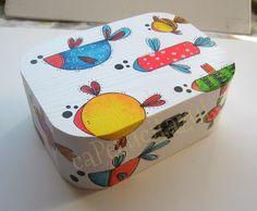 #cajas #ilustración #acrílico #madera #joyeros  www.caperucitazul.com https://www.facebook.com/Caperucitazul http://www.margaritarosaespinosa.blogspot.com.es/