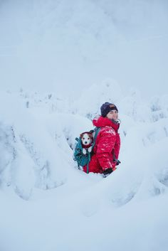 Hiking with dog. Merino Wool Beanie by VAI-KØ. Baby In Snow, Winter Photography, Beach Photography, Group Of Dogs, Hiking Dogs, Winter Hiking, Jack Russell Terrier, Baby Dogs, Levitation Photography