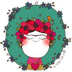 Frida by misspink. www.misspink.es