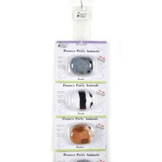 Savvy Tabby 6-Piece Pounce Party Animals Clip Strip for Pets >>> Additional details at the pin image, click it  : Cat toys