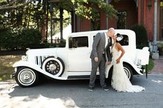 I wanna drive away in a car like this after my wedding!!