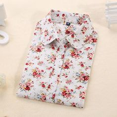 floral shirt with a long Sleeve