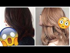 Passer de brune à blonde après un henné : ça marche ? | Harmony Lu - YouTube