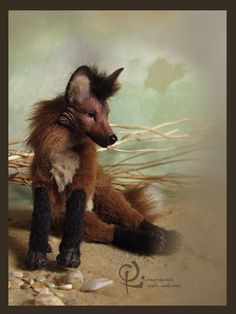 """When you're inspired by your imagination, that is when you know that you're having a great day! Fantasy Quotes, When You Know, Have A Great Day, Imagination, Projects To Try, Fox, Inspired, Handmade, Animals"