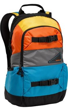 02cfb4c04a Burton Day Hiker 20L Backpack - ballpoint block party - Accessories Packs    Bags Backpacks Snowboard