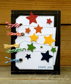 simple Stampin up ON SALE Ornament Card - Paper Handmade Christmas Cards - Handmade Holiday Cards - Blank Christmas Cards. Star Cards, Card Tags, Gift Tags, Card Maker, Creative Cards, Cool Cards, Kids Cards, Greeting Cards Handmade, Scrapbook Cards